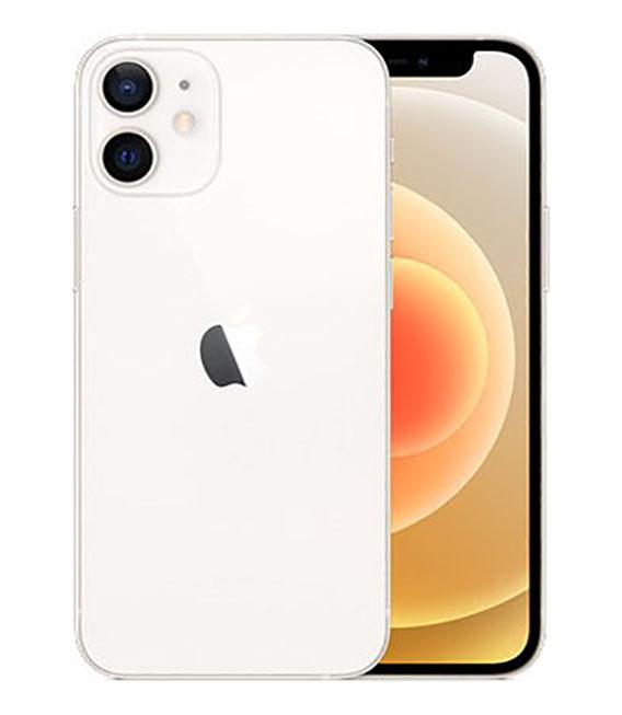 【中古】【安心保証】 iPhone12mini[64GB] SIMロック解除 au ホワイト