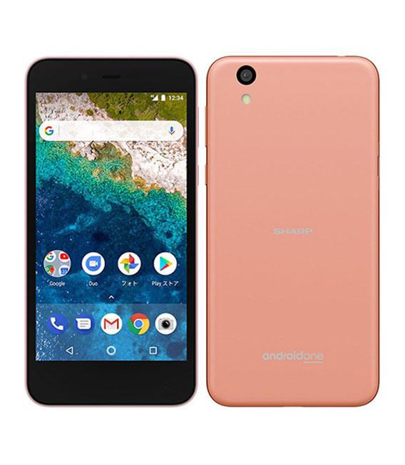 【中古】【安心保証】 SoftBank AndroidOne_S3 ピンク