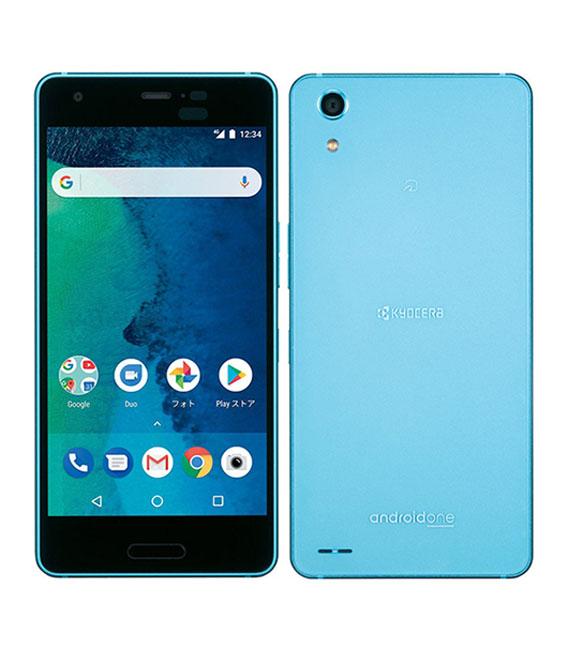 【カード+αで最大28倍】【中古】【安心保証】 Y!mobile Android One X3 ライトブルー