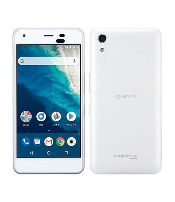【中古】【安心保証】 Y!mobile Android One S4 ホワイト【SIMロック解除済】