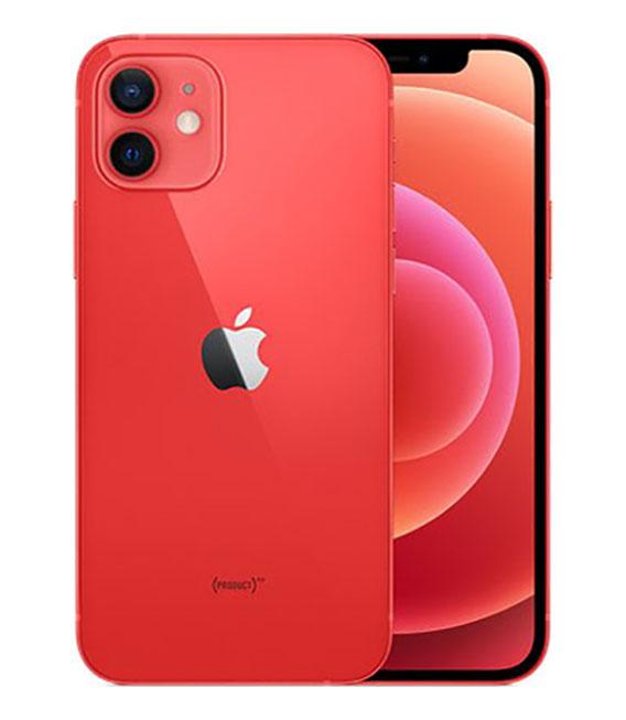 【中古】【安心保証】 SoftBank iPhone12[128Gシム解] レッド