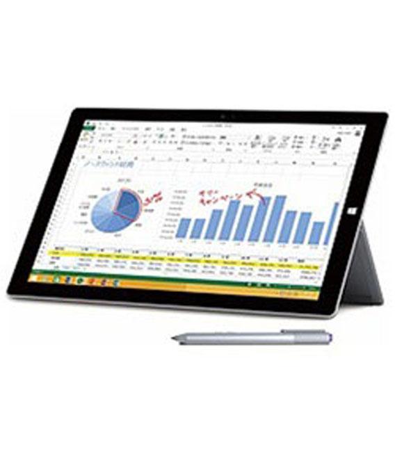 【中古】【安心保証】Surface PRO 3[64Gオフィス無] シルバー