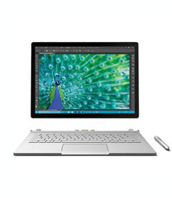【中古】【安心保証】 Surface BooK[256Gオフ有] シルバー