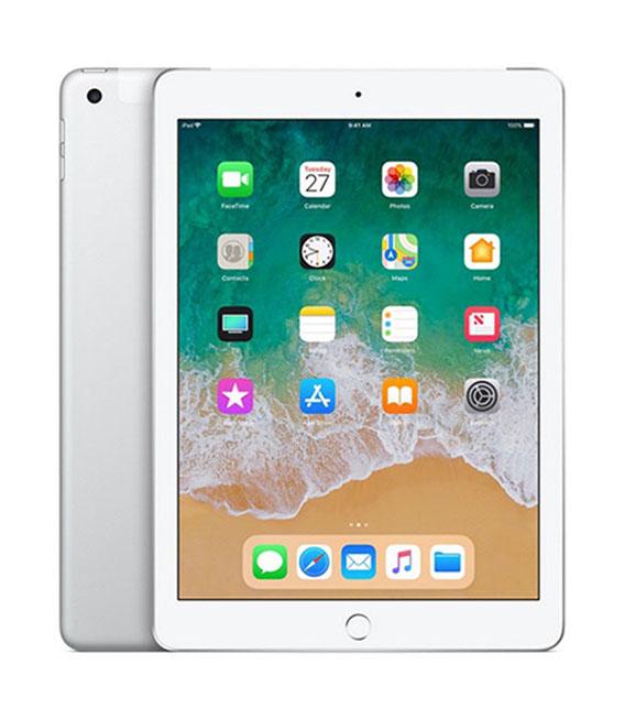 本体 白ロム iPad Aランク 買い物 エーユー 中古 安心保証 第6世代 9.7インチ 128GB セルラー iPad シルバー 引出物 au