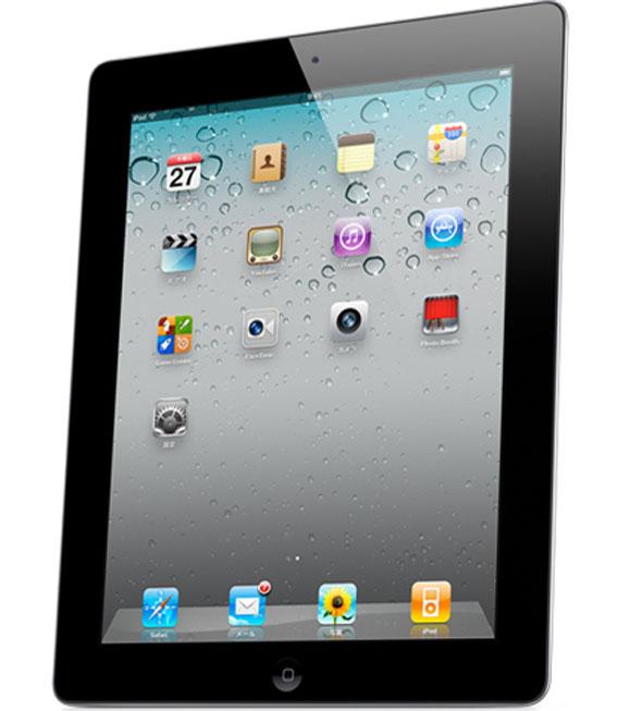 【中古】【安心保証】 SIMフリー iPad2[海外3G 64GB] ブラック