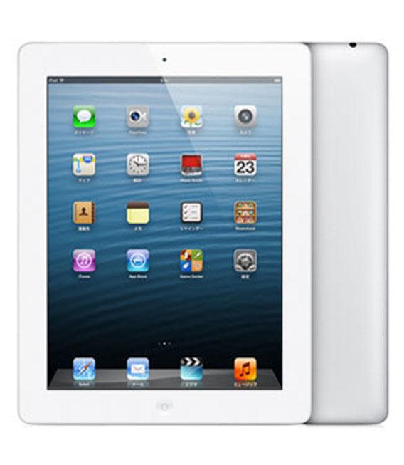【中古】【安心保証】 iPadRetina_4[16GB] ホワイト