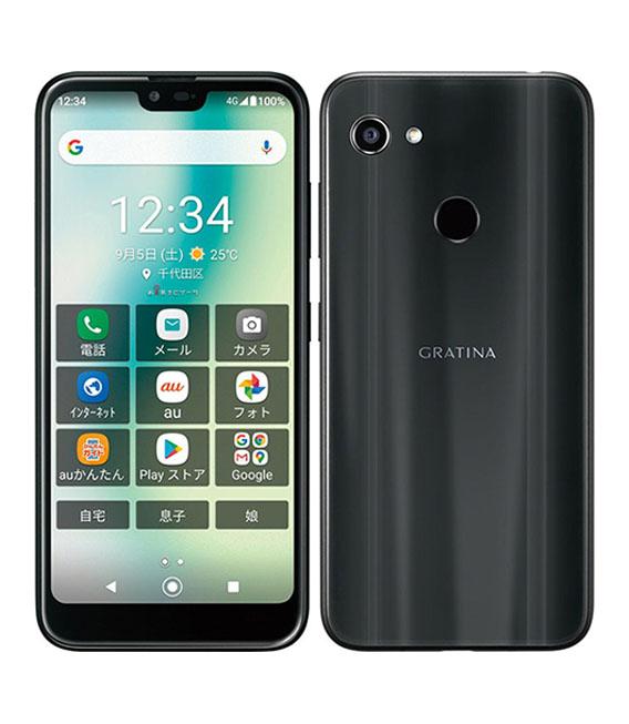 本体 白ロム Androidスマートフォン 特価 未使用品 エーユー 本物 au KYV48 安心保証 ブラック 中古