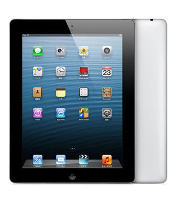 【中古】【安心保証】 SoftBank iPadRetina_4[セルラー128GB] ブラック