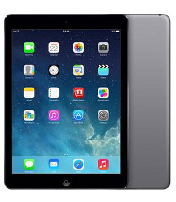 【中古】【安心保証】 docomo iPadAir_1[セルラー64GB] グレイ