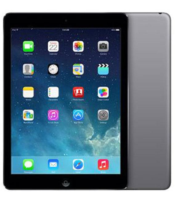 【中古】【安心保証】 docomo iPadAir_1[セルラー128GB] グレイ