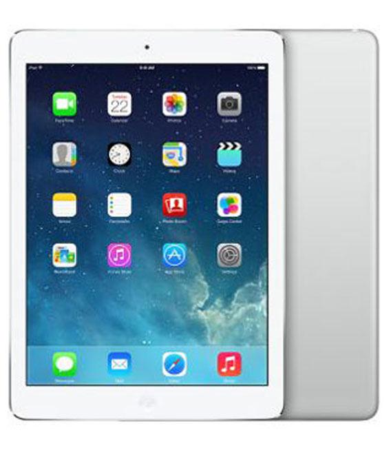 【中古】【安心保証】 docomo iPadAir_1[セルラー128GB] シルバー