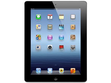 【中古】【安心保証】 SoftBank iPad3[セルラー64GB] ブラック