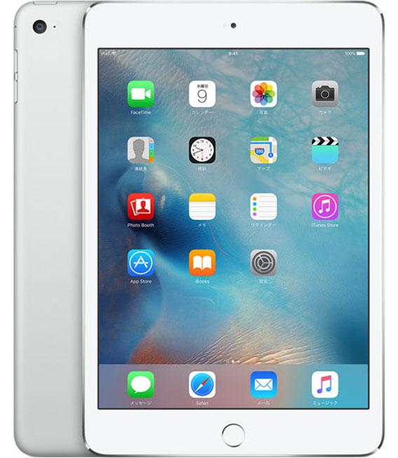 【お買い物マラソンポイント最大28倍】docomo iPadmini4[セルラー128G] シルバー【中古】【安心保証】