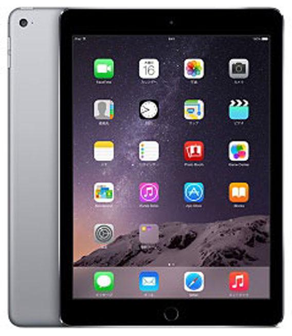 【中古】【安心保証】 iPadAir_2[16GB] グレイ