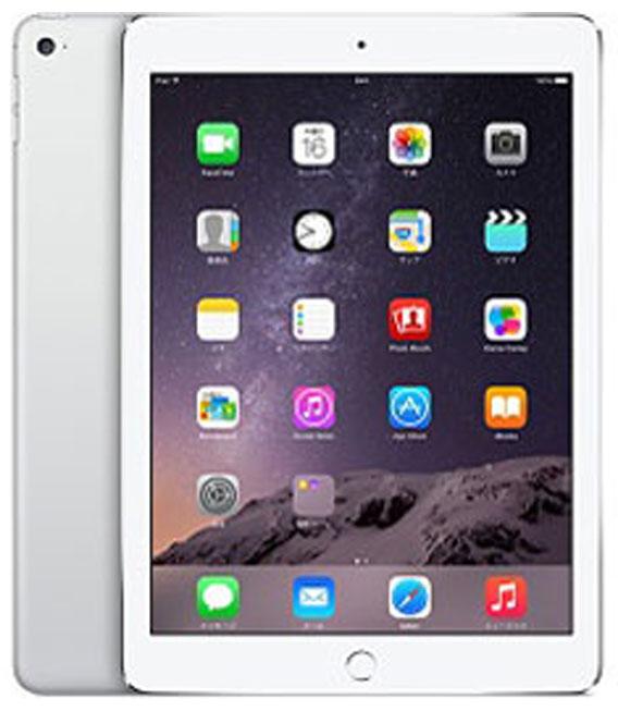 【中古】【安心保証】iPadAir 2[64G] シルバー