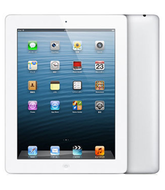 【中古】【安心保証】 iPadRetina_4[WiFi16GB] ホワイト