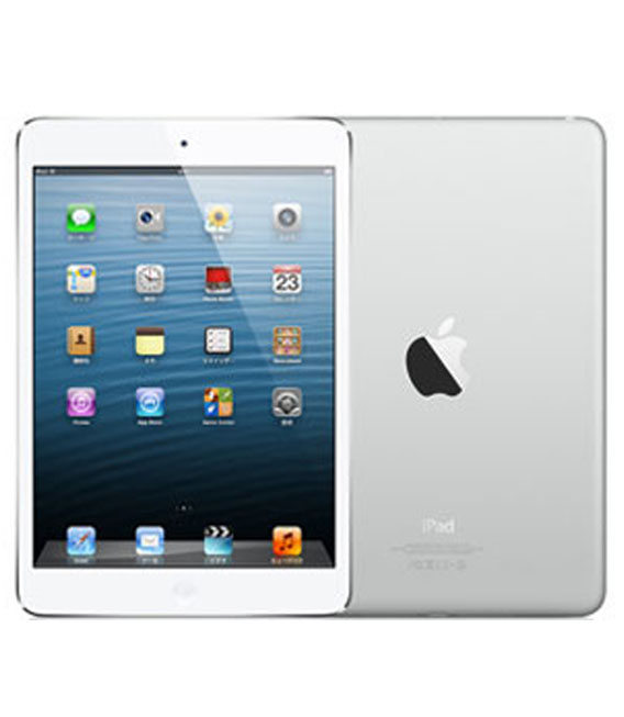 【中古】【安心保証】iPadmini1[WiFi 64G] ホワイト