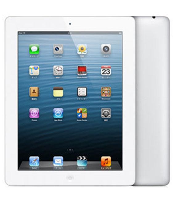【中古】【安心保証】 au iPadRetina 4[セルラー32GB] ホワイト