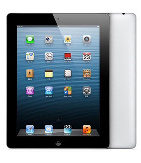 【中古】【安心保証】 SoftBank iPadRetina 4[セルラー64G] ブラック