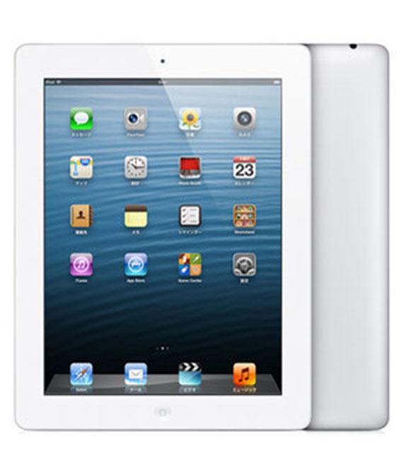【中古】【安心保証】 SoftBank iPadRetina_4[セルラー64GB] ホワイト