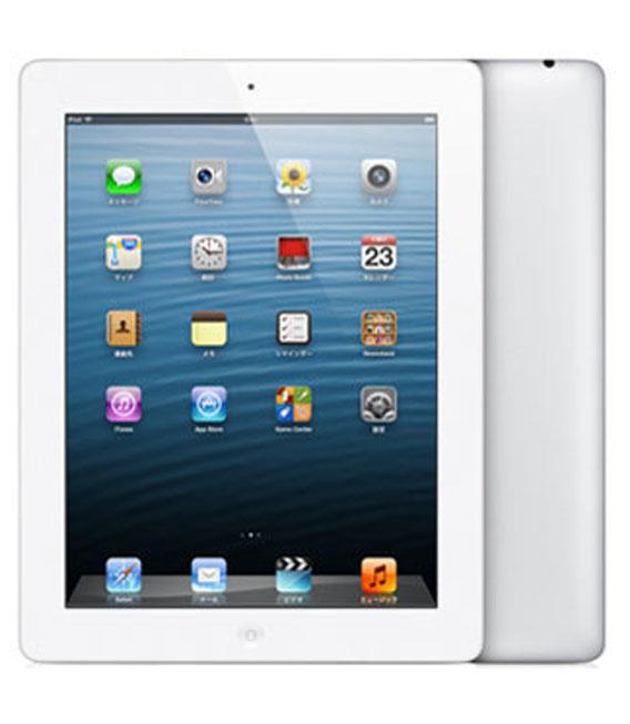 【中古】【安心保証】 SoftBank iPadRetina_4[セルラー16GB] ホワイト