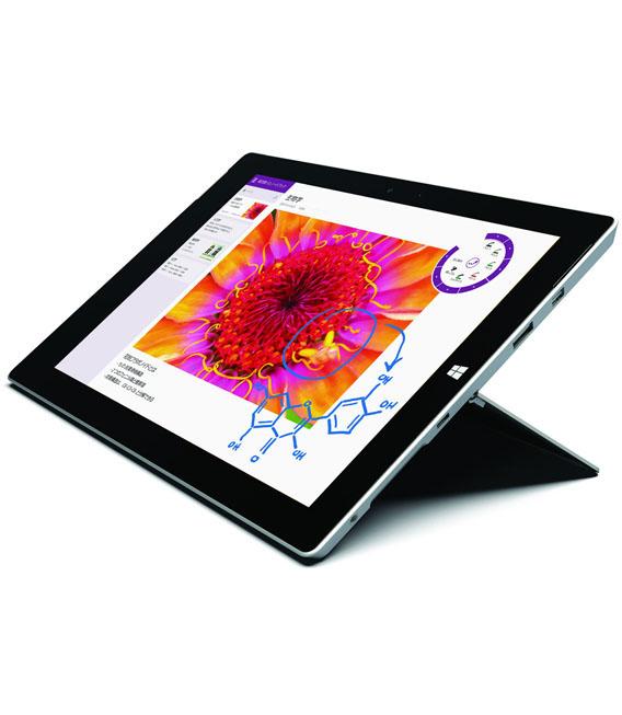 【中古】【安心保証】Y!mobile Surface3[64Gオフ有] シルバー