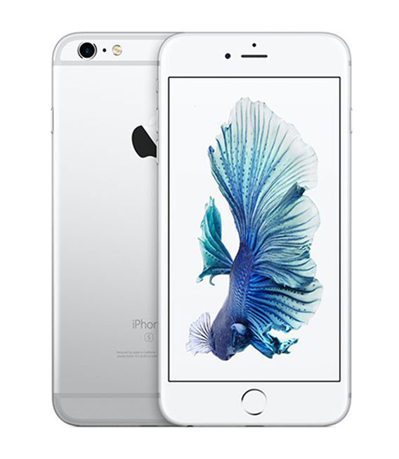 【中古】【安心保証】 SIMフリー iPhone6sPlus[32G] シルバー