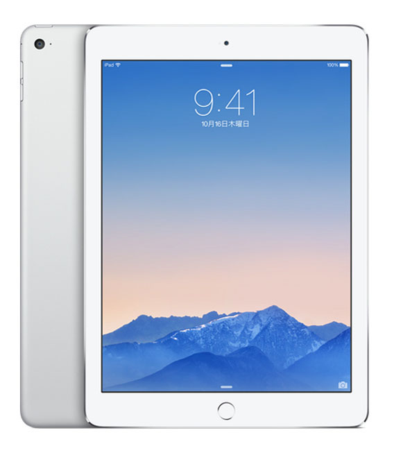 【中古】【安心保証】 iPadAir2_6[WiFi128GB] シルバー