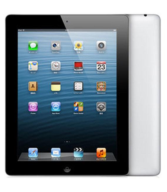 【中古】【安心保証】 SoftBank iPadRetina_4[セルラー32GB] ブラック