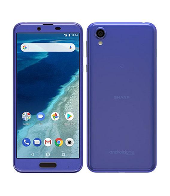【中古】【安心保証】 Y!mobile Android One X4 オーシャンブルー