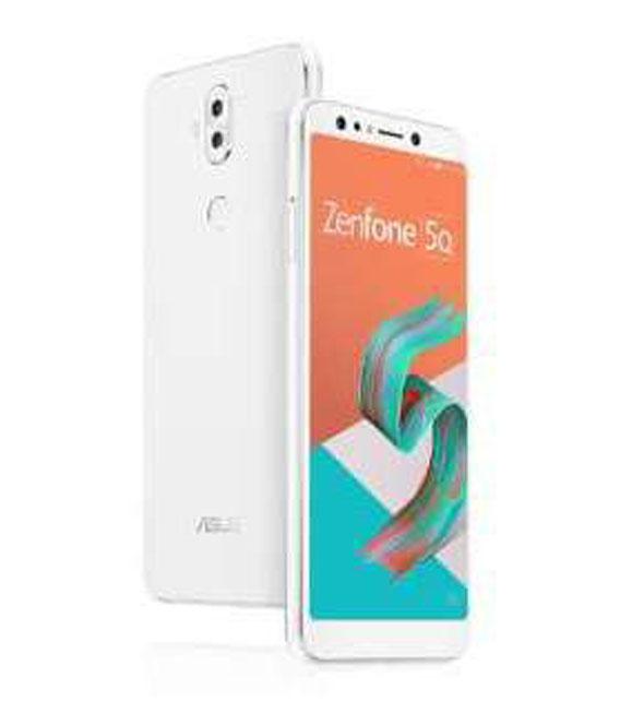 【中古】【安心保証】SIMフリー ZenFone5_Q[64G] ホワイト