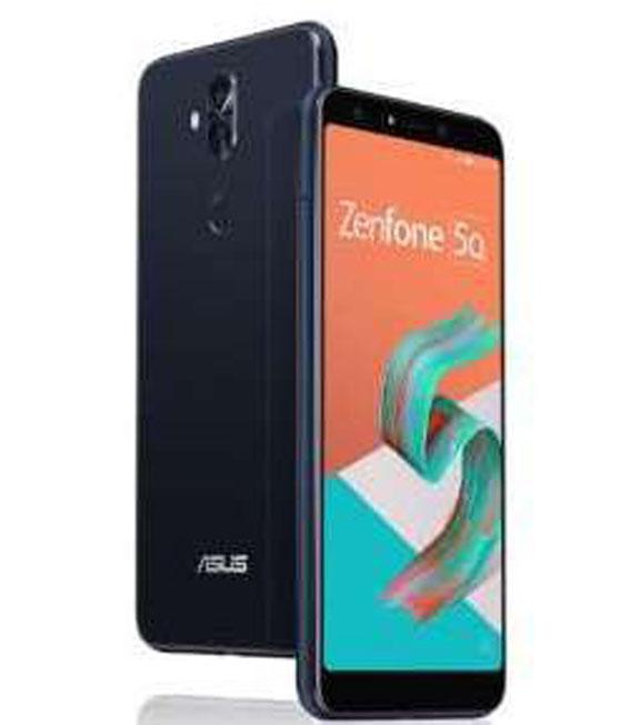 【お買い物マラソンポイント最大28倍】SIMフリー ZenFone5_Q[64G] ブラック【中古】【安心保証】