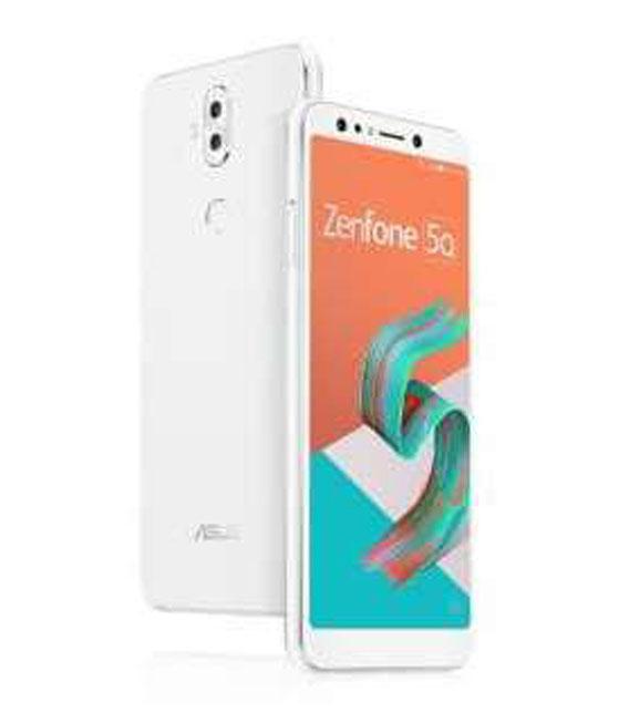 【中古】【安心保証】 SIMフリー ZenFone5 Q[32G] ホワイト