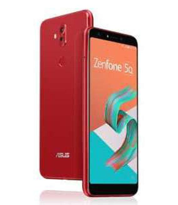 【中古】【安心保証】 SIMフリー ZenFone5_Q[32G] レッド