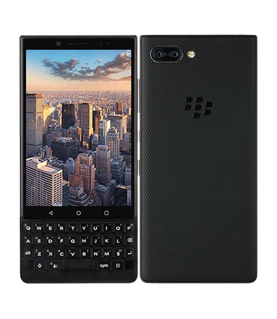【中古】【安心保証】 SIMフリー BlackBerry KEY2 Black[128G] ブラック