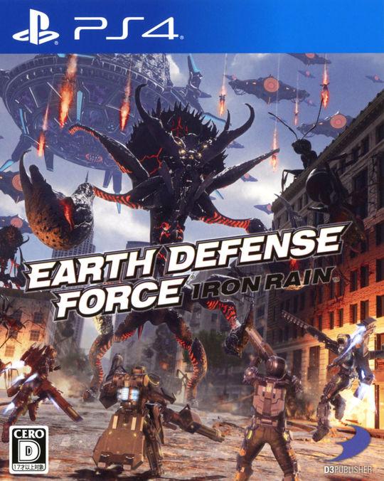 3980円以上で送料無料 中古 EARTH DEFENSE アクション 低価格化 爆買い送料無料 ゲーム RAINソフト:プレイステーション4ソフト FORCE:IRON