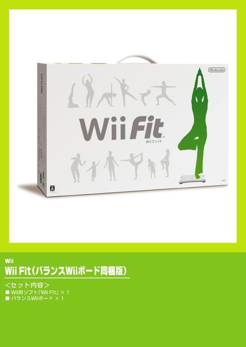 【3980円以上で送料無料】 【中古】Wii Fit (同梱版)ソフト:Wiiソフト/スポーツ・ゲーム