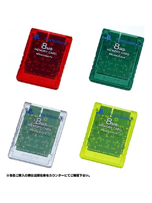 【4000円以上で送料無料】 【中古】ソニー/中古PS2メモリーカード(8MB)各色周辺機器(メーカー純正)ソフト/その他・ゲーム