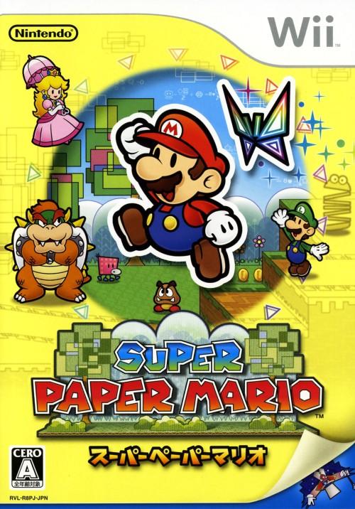 5☆大好評 3980円以上で送料無料 中古 スーパーペーパーマリオソフト:Wiiソフト ゲーム 大人気 任天堂キャラクター