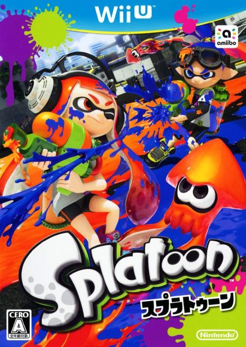 【3980円以上で送料無料】 【中古】Splatoon(スプラトゥーン)ソフト:WiiUソフト/任天堂キャラクター・ゲーム