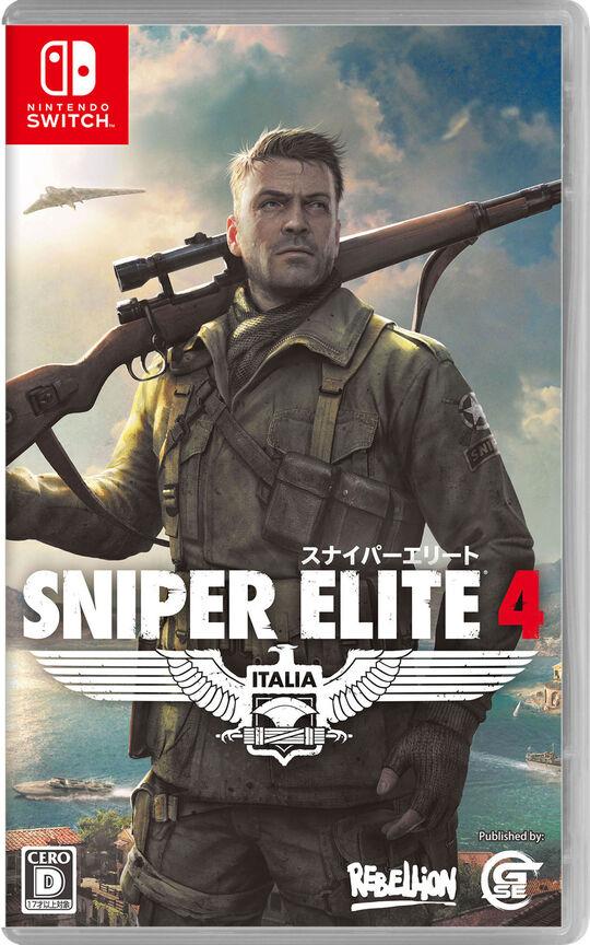 3980円以上で送料無料 中古 SNIPER ELITE ゲーム アクション お歳暮 売り込み 4ソフト:ニンテンドーSwitchソフト