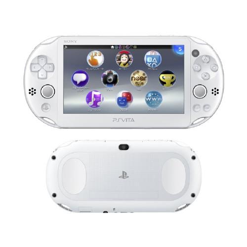【中古】【箱説なし・付属品なし・傷なし】PlayStation Vita Wi-Fiモデル PCH-2000ZA12 ホワイトPSVita ゲーム機本体