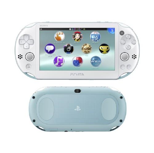 【中古】PlayStation Vita Wi-Fiモデル PCH-2000ZA14 ライトブルー/ホワイト