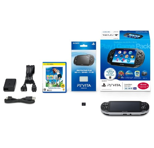 【中古】PlayStation Vita 3G/Wi-Fiモデル Play!Game Pack (同梱版)
