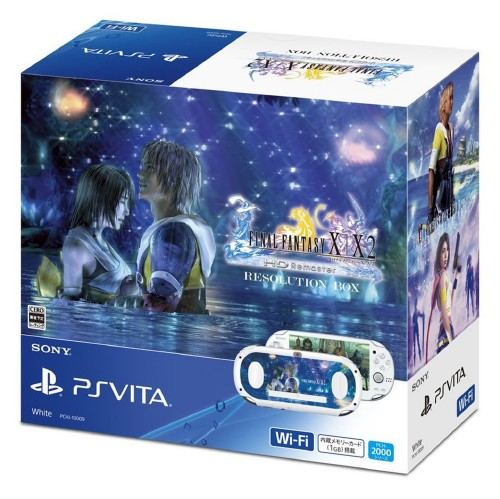 【中古】PlayStation Vita FINAL FANTASY10/10-2 HD Remaster RESOLUTION BOX (同梱版)