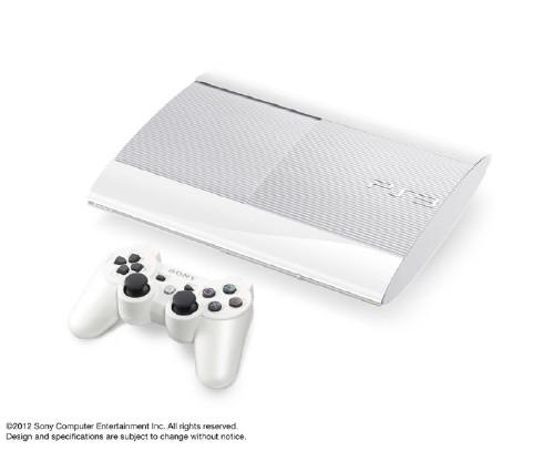 【中古】PlayStation3 HDD 250GB CECH-4000BLW クラシック・ホワイト