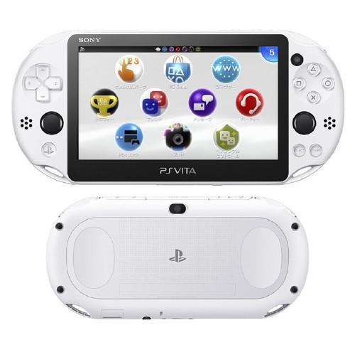 【中古】PlayStation Vita Wi-Fiモデル PCH-2000ZA22 グレイシャー・ホワイト