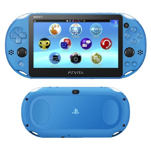 【新品】PlayStation Vita Wi-Fiモデル PCH-2000ZA23 アクア・ブルー