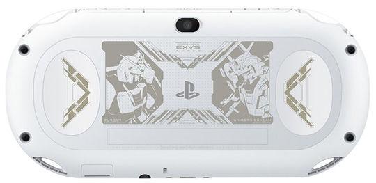 【中古】PlayStation Vita × 機動戦士ガンダム EXTREME VS-FORCE PREMIUM BOX グレイシャー・ホワイト (限定同梱版)