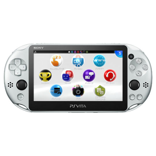 【新品】PlayStation Vita Wi-Fiモデル PCH-2000ZA25 シルバー